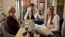 Rose Walker, Hendrix Greyson, Mackenzie Hargreaves in Neighbours Episode 8685