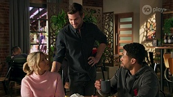 Amy Greenwood, Ned Willis, Levi Canning in Neighbours Episode 8685