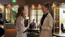 Harlow Robinson, Chloe Brennan in Neighbours Episode 8686