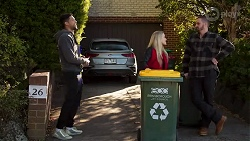 Levi Canning, Roxy Willis, Kyle Canning in Neighbours Episode 8686