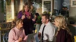 Amy Greenwood, Melanie Pearson, Toadie Rebecchi, Rose Walker in Neighbours Episode 8686