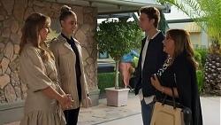 Harlow Robinson, Chloe Brennan, Jesse Porter, Terese Willis in Neighbours Episode 8686