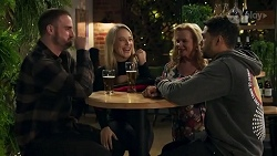 Kyle Canning, Roxy Willis, Sheila Canning, Levi Canning in Neighbours Episode 8686