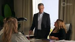 Chloe Brennan, Harlow Robinson, Paul Robinson, Terese Willis in Neighbours Episode 8687