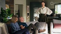 Jane Harris, Clive Gibbons, Chloe Brennan in Neighbours Episode 8688
