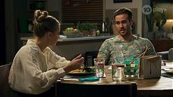 Chloe Brennan, Aaron Brennan in Neighbours Episode 8688