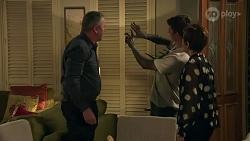 Karl Kennedy, Hendrix Greyson, Susan Kennedy in Neighbours Episode 8688