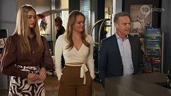 Chloe Brennan, Harlow Robinson, Paul Robinson in Neighbours Episode 8688