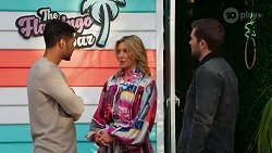 Levi Canning, Amy Greenwood, Ned Willis in Neighbours Episode 8689