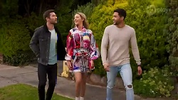 Ned Willis, Amy Greenwood, Levi Canning in Neighbours Episode 8689