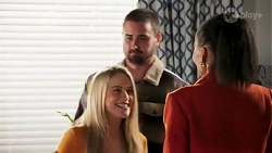Roxy Willis, Kyle Canning, Evelyn Farlow in Neighbours Episode 8690
