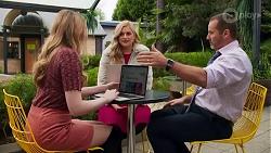 Mackenzie Hargreaves, Rose Walker, Toadie Rebecchi in Neighbours Episode 8690