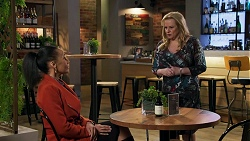 Evelyn Farlow, Sheila Canning in Neighbours Episode 8690