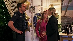 Constable Andrew Rodwell, Rose Walker, Amy Greenwood in Neighbours Episode 8691