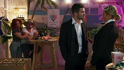 Roxy Willis, Kyle Canning, Ned Willis, Amy Greenwood in Neighbours Episode 8691