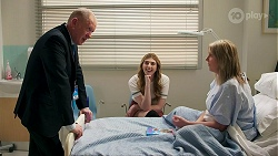Clive Gibbons, Mackenzie Hargreaves, Melanie Pearson in Neighbours Episode 8691
