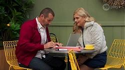 Toadie Rebecchi, Rose Walker in Neighbours Episode 8691