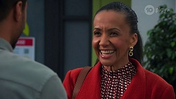 Levi Canning, Evelyn Farlow in Neighbours Episode 8691