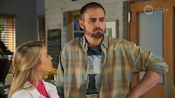 Roxy Willis, Kyle Canning in Neighbours Episode 8694