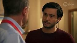 Paul Robinson, David Tanaka in Neighbours Episode 8694
