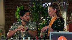 David Tanaka, Chloe Brennan in Neighbours Episode 8698