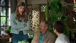 Mackenzie Hargreaves, Karl Kennedy, Susan Kennedy in Neighbours Episode 8708