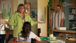 Melanie Pearson, Nell Rebecchi, Toadie Rebecchi in Neighbours Episode 8708
