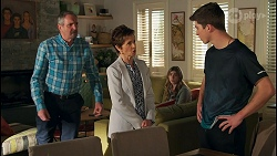 Karl Kennedy, Susan Kennedy, Mackenzie Hargreaves, Hendrix Greyson in Neighbours Episode 8708