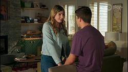 Mackenzie Hargreaves, Hendrix Greyson in Neighbours Episode 8708