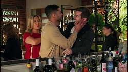 Amy Greenwood, Levi Canning, Ned Willis in Neighbours Episode 8710