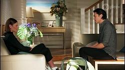 Britney Barnes, Leo Tanaka in Neighbours Episode 8710