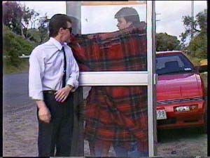 Paul Robinson, Mike Young, Scott Robinson in Neighbours Episode 0408