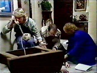 Henry Ramsay, Harold Bishop, Nell Mangel, Madge Ramsay in Neighbours Episode 0553