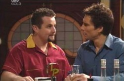 Toadie Rebecchi, Darcy Tyler in Neighbours Episode 4133