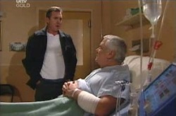 Karl Kennedy, Lou Carpenter in Neighbours Episode 4135