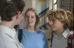 Daniel Clohesy, Heather Green, Boyd Hoyland in Neighbours Episode 4136