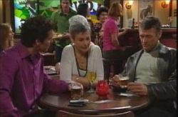 Darcy Tyler, Chloe Lambert, Martin Cook in Neighbours Episode 4137