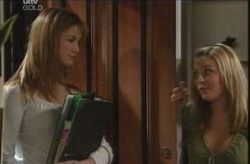 Nina Tucker, Michelle Scully in Neighbours Episode 4138