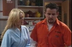 Dee Bliss, Toadie Rebecchi in Neighbours Episode 4138