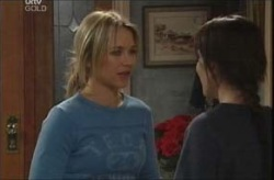 Steph Scully, Libby Kennedy in Neighbours Episode 4140