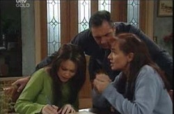 Karl Kennedy, Susan Kennedy, Libby Kennedy in Neighbours Episode 4141