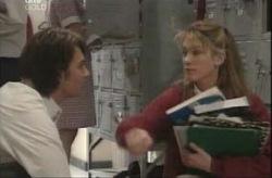 Taj Coppin, Nina Tucker in Neighbours Episode 4143
