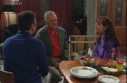 Karl Kennedy, Harold Bishop, Susan Kennedy in Neighbours Episode 4144