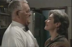 Harold Bishop, Ruby Dwyer in Neighbours Episode 4145