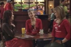 Libby Kennedy, Chloe Lambert, Steph Scully in Neighbours Episode 4146