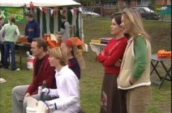 Max Hoyland, Boyd Hoyland, Libby Kennedy, Steph Scully in Neighbours Episode 4146
