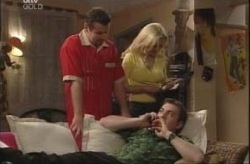 Toadie Rebecchi, Dee Bliss, Stuart Parker in Neighbours Episode 4147