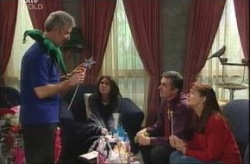 Gino Esposito, Libby Kennedy, Karl Kennedy, Susan Kennedy in Neighbours Episode 4147