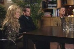 Dee Bliss, Toadie Rebecchi, Martin Cook in Neighbours Episode 4147