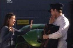 Libby Kennedy, Stuart Parker in Neighbours Episode 4147